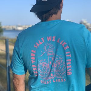 Great Lakes Lover Adventurer Surfer Tee
